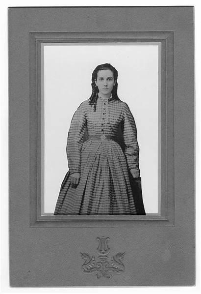 Julia Ann Age Wright Portrait Gober History