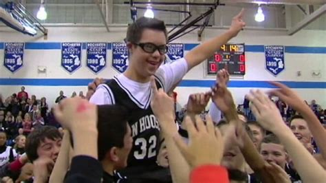 syndrome high school student  amazing basketball
