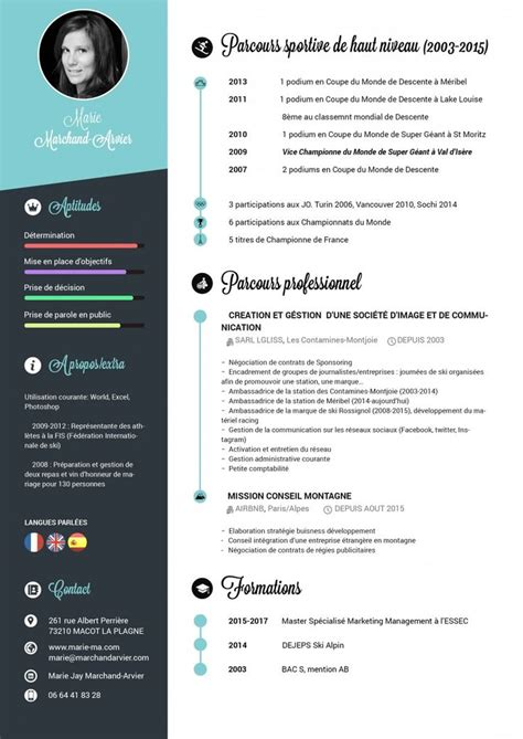 Template De Cv Gratuit by Template Cv Gratuit Degisco