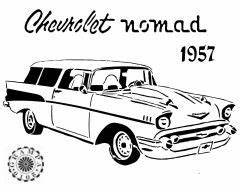 57 chevy drawing at getdrawingscom free for personal With 1956 chevy bel air