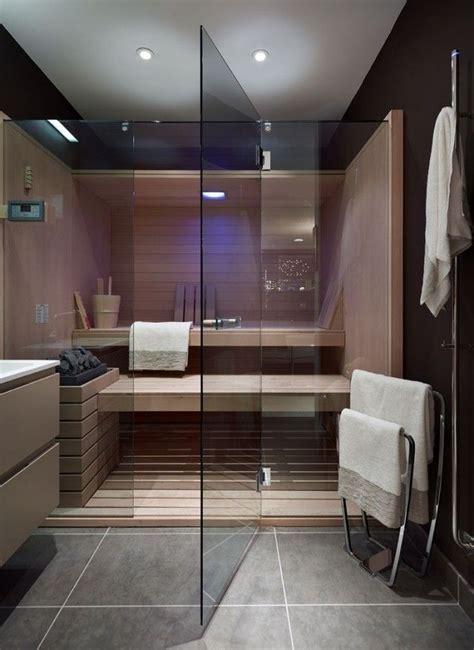 Badezimmer Mit Sauna by Badezimmer Sauna Planen Glaswand T 252 R Gro 223 Formatige Graue