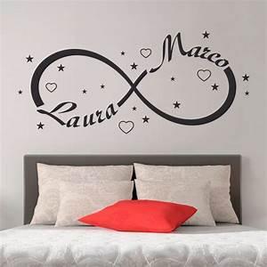 Wall Sticker Adesivi Murali Simbolo Infinito Amore Gigio Store