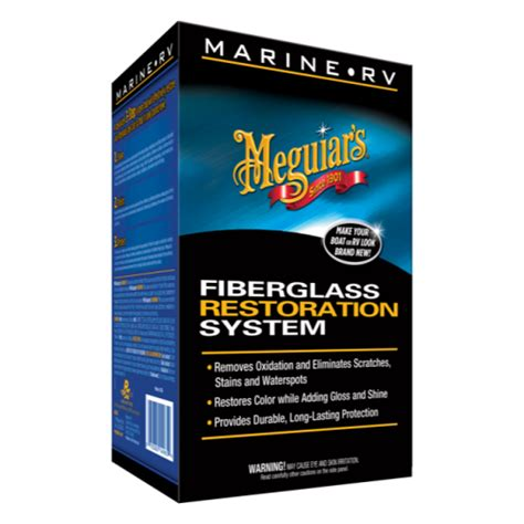Meguiars Boat Wax Kit by Meguiar S 174 Marine Rv Fiberglass Oxidation Removal Kit