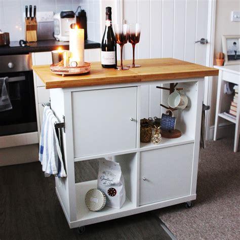 Ikea Kallax Kitchen Island Hack  Jen Lou Meredith