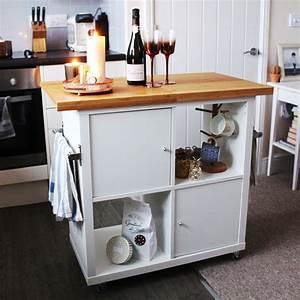 Ikea Kallax Ideen : ikea kallax kitchen island hack jen lou meredith ~ Eleganceandgraceweddings.com Haus und Dekorationen