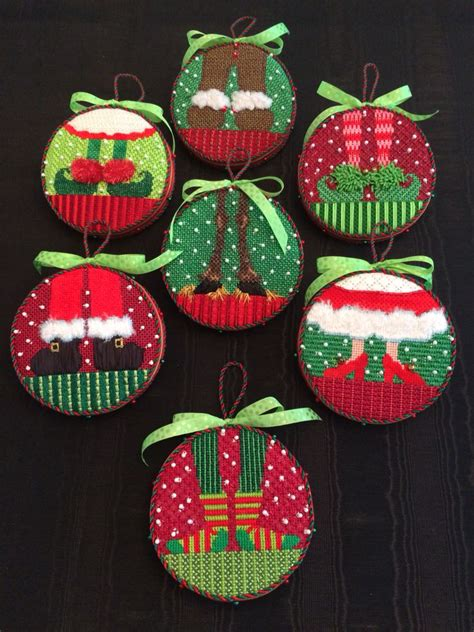fun feet ornaments canvas designs  elizabeth turner