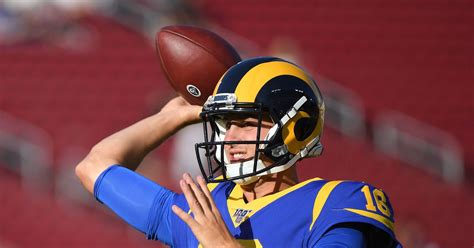 la rams finalizing contract extension  qb jared goff