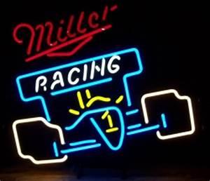 Miller Racing Neon Sign
