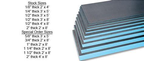 waterproof tile backer boards  panels cincinnati