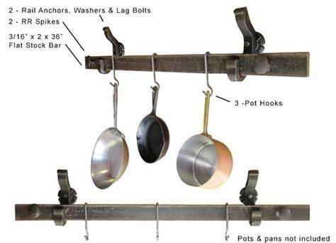 Pot & Pan Hanger (wall Mounted)