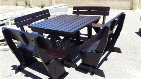 restaurant furniture outdoor benches patio commercial