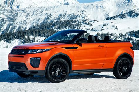 Land Rover Car : 2017 Land Rover Range Rover Evoque Reviews And Rating