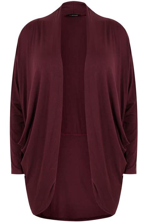drape nj wine jersey cardigan with drape pockets plus size 16 to 36