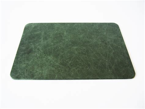office desk pads leather green vintage desk pad distressed mat for an antiqued