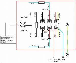 Wiring Diagram For Electric Motor With Capacitor