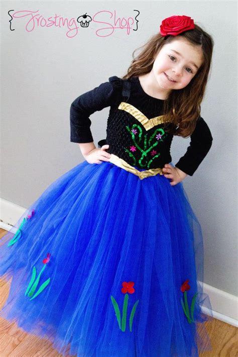 princess anna inspired tutu dress frozen