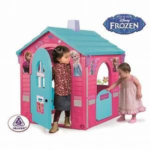 Maison Pour Enfant : la reine des neiges maison cabane pour enfant achat vente maisonnette ext rieure cdiscount ~ Teatrodelosmanantiales.com Idées de Décoration