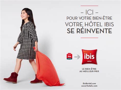 marque literie hotel ibis nouveau territoire de marque ibis agence w