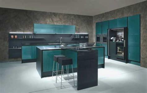 hermosa mas de  fotos de cocinas azules decoracion