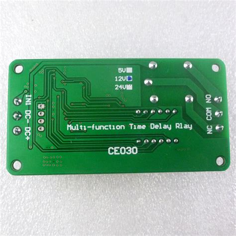 dc 12v multifunction self lock relay plc cycle timer