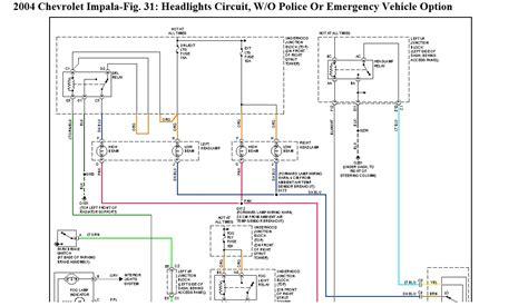 2004 Chevy Impala Headlight Wiring Diagram by 2004 Chevy Impala Headlight Wiring Diagram Camizu Org