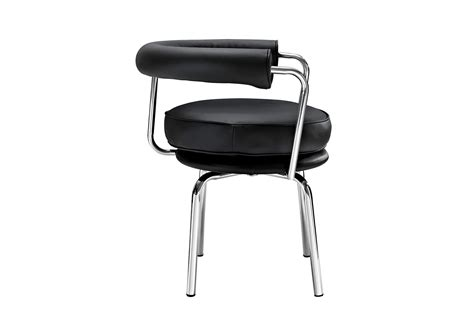 lc swivel chair le corbusier style furnishplus