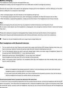 Paww Wavesound Bluetooth Headphone User Manual