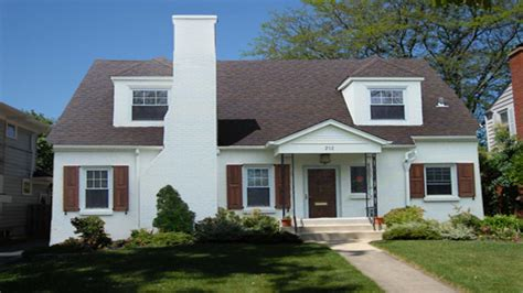 painting brick house exterior sherwin williams shell white painted brick house white painted