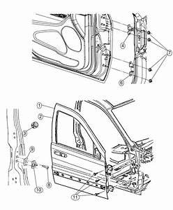 2015 Jeep Grand Cherokee Door  Front  Left  Shell  Mopar