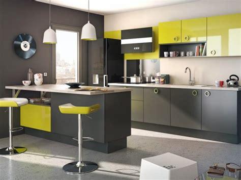 cuisine vert et gris cuisine vert