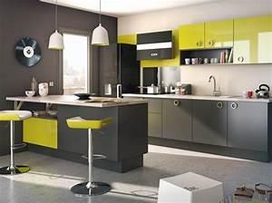 cuisine vert With cuisine gris et vert