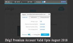 ZbigZ Premium Account For Free No Survey Valid Upto