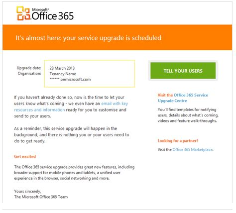 Office 365 Upgrade by Office 365 Upgrade Alex Pearce Office 365 Mvp