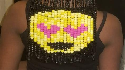 hairstylist creates amazing beads  braids