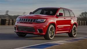 2017 Jeep Grand Cherokee Trackhawk Revealed  Australian Arm Keen