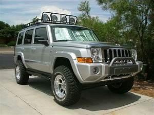 Jeep Commander 4 U0026quot  Lift With 4 5 U0026quot  Wheel Spacers