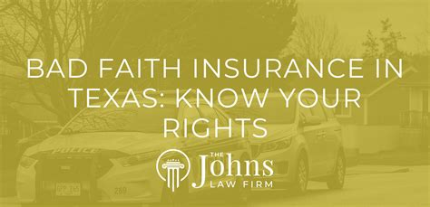 Los angeles bad faith insurance lawyer scott glovsky learned that large insurance companies put in place procedures and policies designed to process large amounts of paperwork and reap the insurance companies huge profits. Bad Faith Insurance in Texas: Know Your Rights - The Johns Law Firm