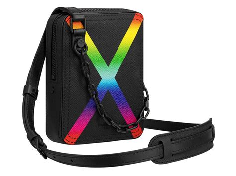 louis vuitton fall winter  taiga rainbow danube messenger bagaholicboy