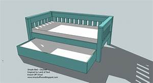 PDF Plans to build a trundle bed DIY Free Plans Download