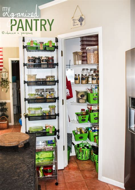 kitchen storage  organized pantry makeover lesson learned