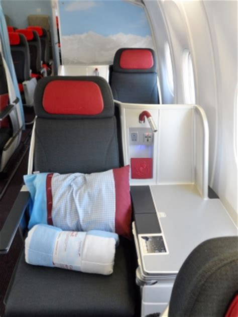 austrian airlines business class seat map heels  travel