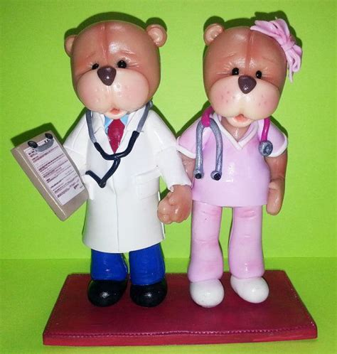 doctor  nurse teddy bears handmade