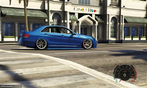 Stance Handling For Mercedes Benz E63