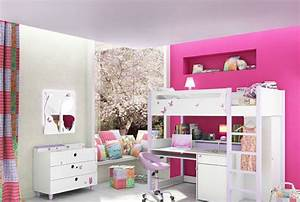 Commode Chambre Fille : chambre petite fille conforama ~ Teatrodelosmanantiales.com Idées de Décoration
