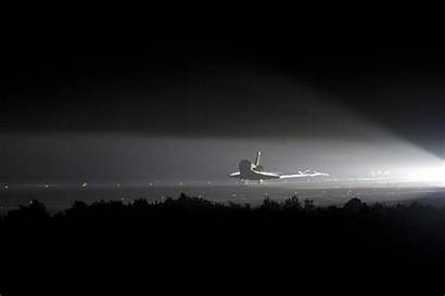 Space Shuttle Final Night Wallpapers Station Last