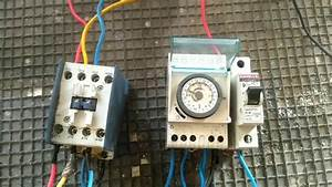 3 Different Phase Lighting Control Through Street Light Timer  Bs Eei