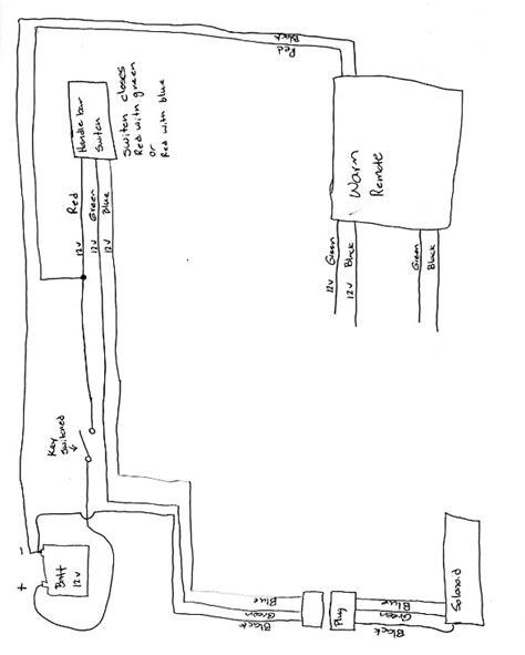 Badland Winch Remote Wiring Diagram by Badland 2500 Winch Wireless Remote Wiring Diagram