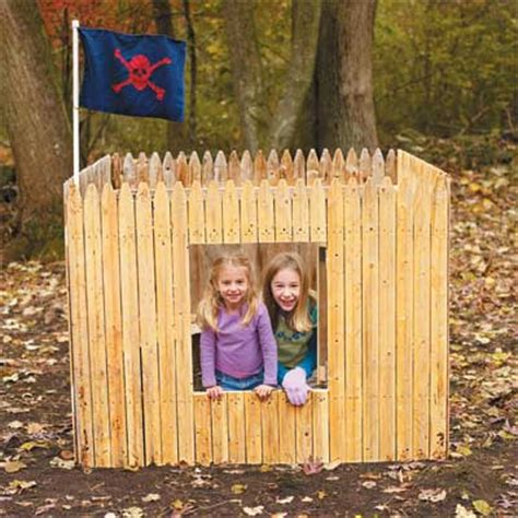 Diy Backyard Forts - 7 extremely cool backyard forts realclear