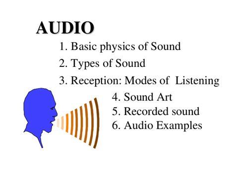 Sound Physics