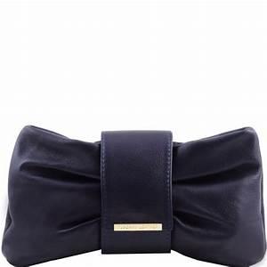 Pochette Femme Bleu Marine : pochette cuir bandouli re pas cher femme tuscany leather ~ Teatrodelosmanantiales.com Idées de Décoration